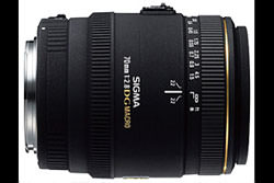 Sigma 70mm f/2.8 EX DG Macro lens review