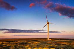 Wind turbine photography