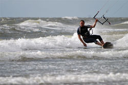 Kitesurfing photography