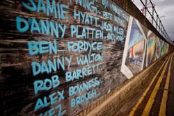 Photographing graffiti