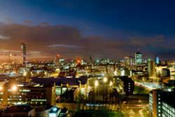 Urban photography at night
