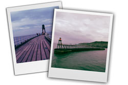 Digital photos as Polaroids