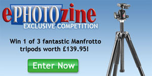 Win a Manfrotto tripod