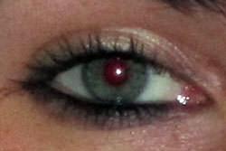 Fixing red eye