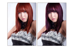 Change Hair Colour In Photoshop