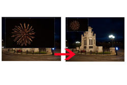 Fireworks in Photoshop