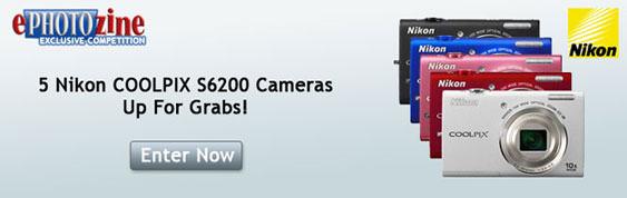 Win a Coolpix S6200 Camera