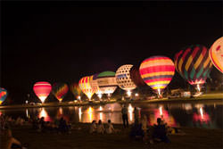 How To Photograph A Balloon Night Glow