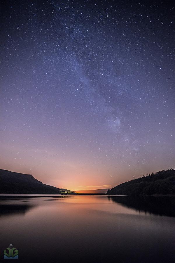 Ladybower Milky Way