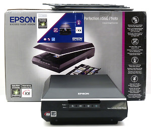 Epson Perfection V550 Scanner Review