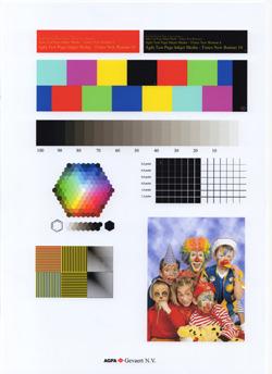 Epson Stylus Photo Printer PX720WD Colour enhancer scanned