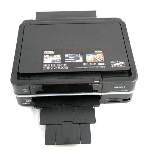 Epson Stylus Photo Printer PX720WD catch tray
