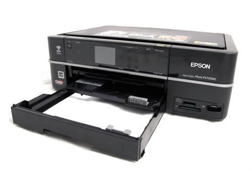 Epson Stylus Photo Printer PX720WD paper tray