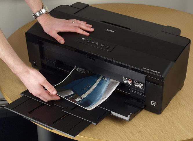 Epson Stylus 1500w Hands On Print
