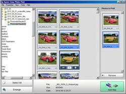 Epson Stylus Photo Printer PX820FWD folder tree