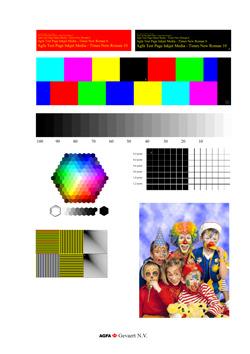 Epson Stylus Photo Printer PX820FWD standard test image original