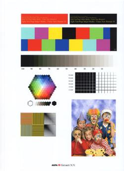 Epson Stylus Photo Printer PX820FWD standard test image best photo quality