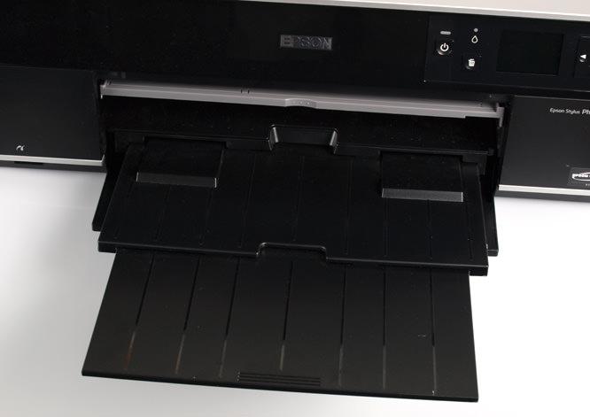 Epson Stylus Photo R3000 Loading Tray Shut