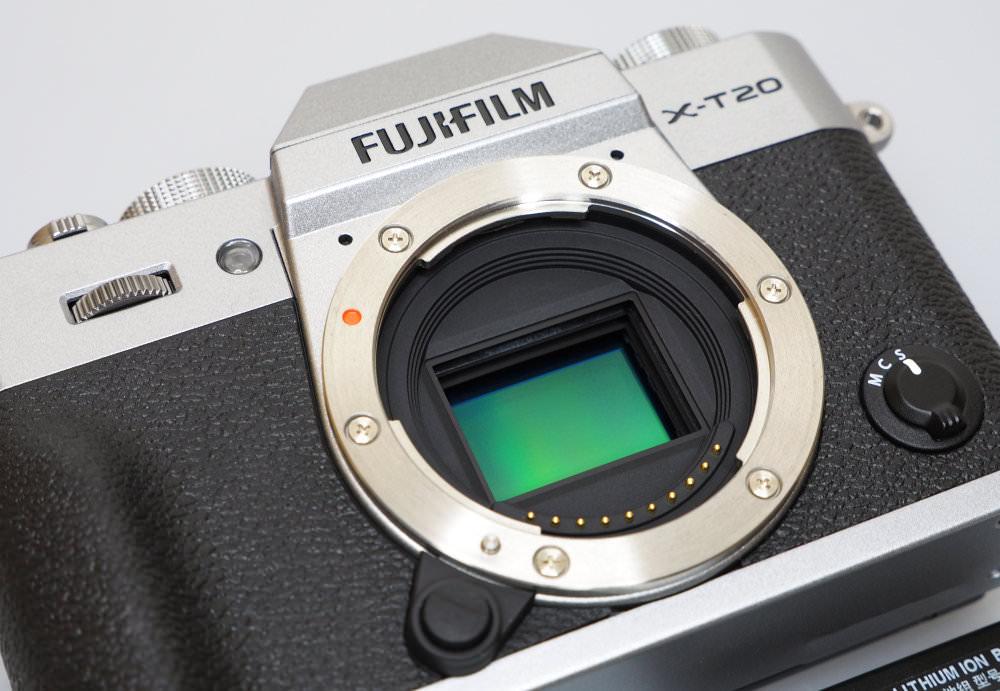Fujifilm X T20 Silver Black (1)