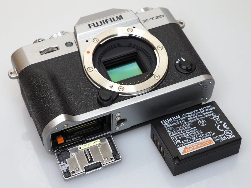 Fujifilm X T20 Silver Black (8)