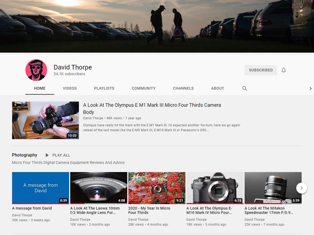 David Thorpe YouTube Channel