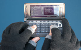 etre touchy in use with mobile phone