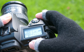 etre touchy in use with digital slr camera