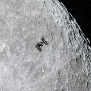 ISS close up