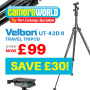 Thumbnail : Exclusive Discount On CameraWorld's Best Selling Tripod!