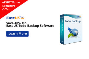 Exclusive ePHOTOzine Member Offer: Save 40% On EaseUS Todo Backup Software