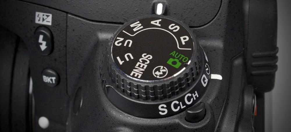 Nikon D7000 DSLR Mode Dial