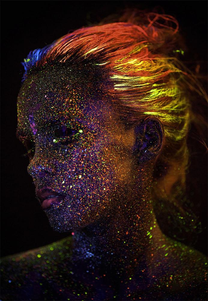 UV model portrait