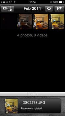 Eye Fi Mobi App Screenshot 6