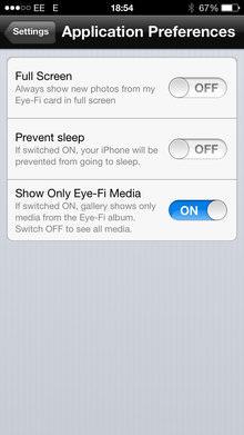 Eye Fi Mobi App Screenshot 7