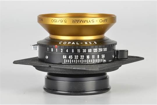 A Prototype Schneider APO-Symmar f/5.6 150mm Lens