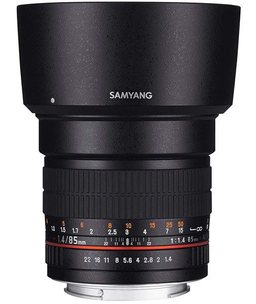 Samyang 85mm lens