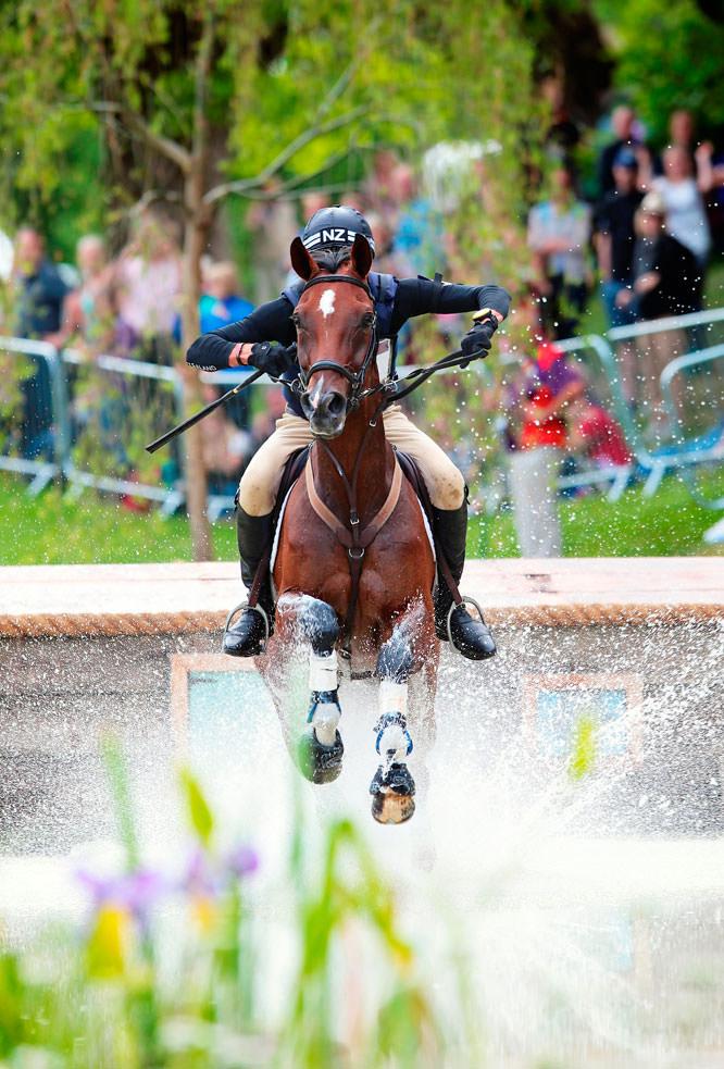 Equestrian sport event by Arnd Bronkhorst