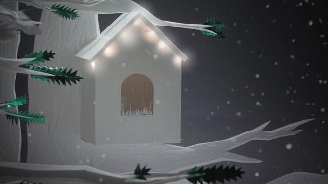 EIZO Christmas animation