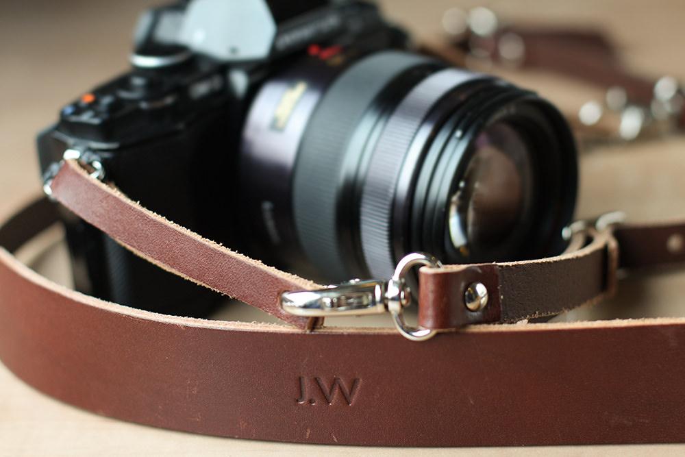 Personalised OTZI London camera strap