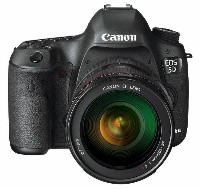 Canon EOS Mark III Front