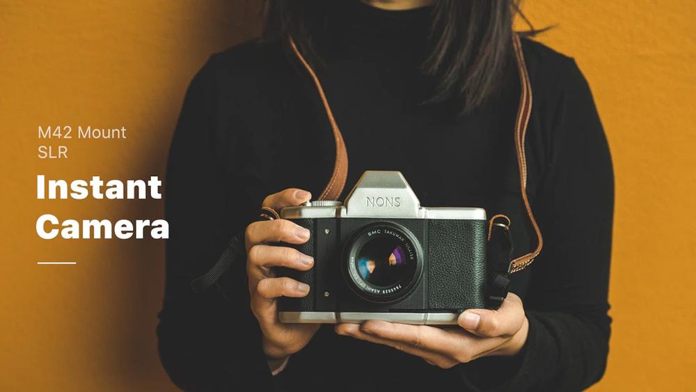 NONS SL42 instant film camera