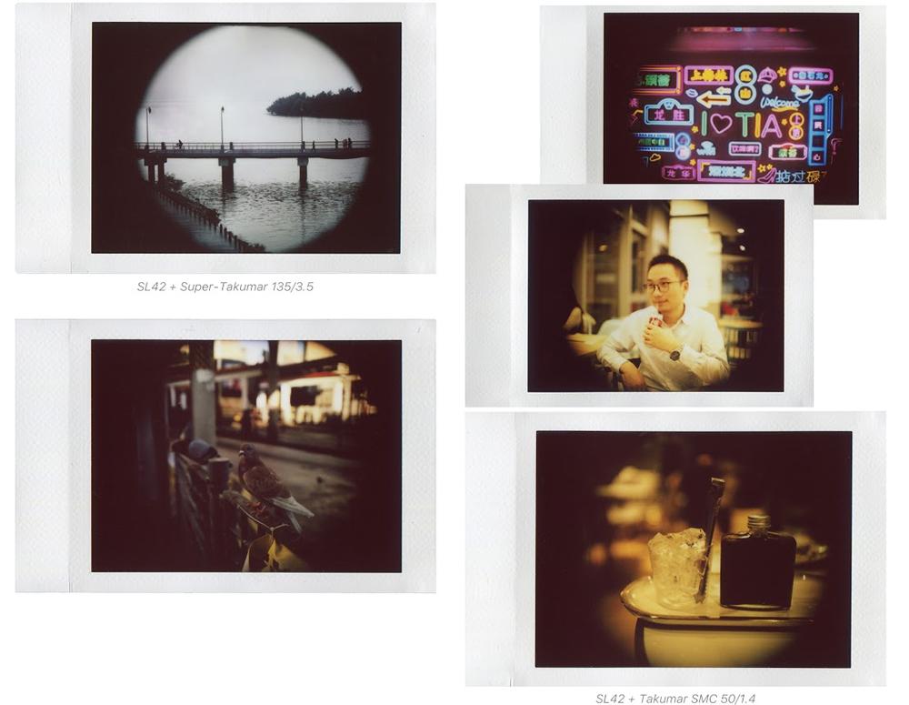 NONS SL42 instant film camera images