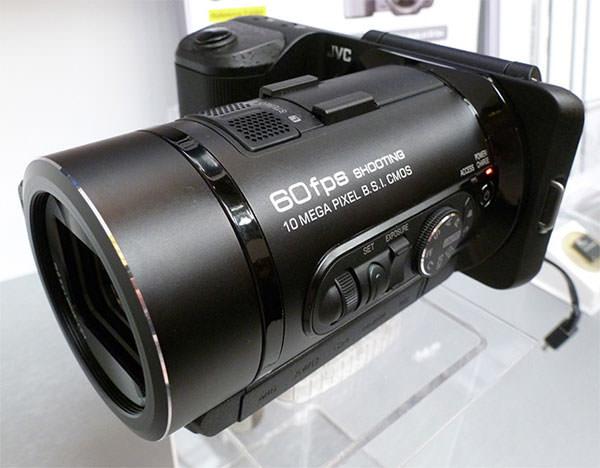 JVC FalconBrid GC-PX1 HD Hybrid Camcorder High Speed Digital Camera