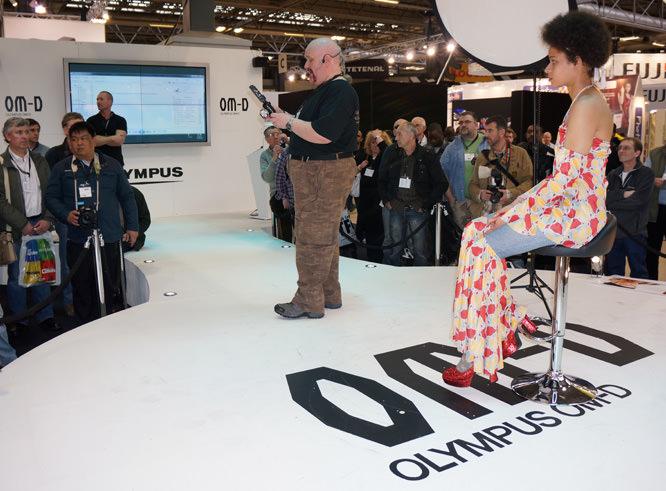 Damian at Olympus OM-D