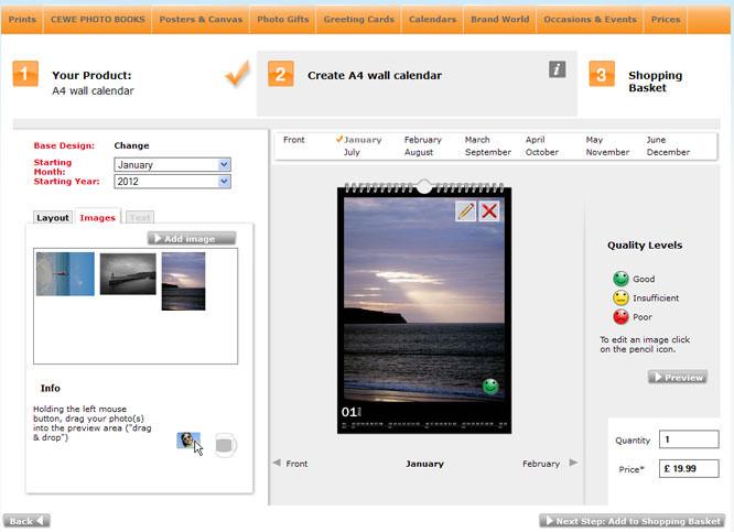 FotoInsight Calendar