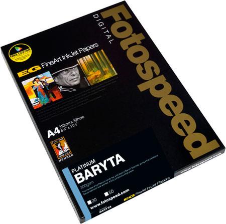 Fotospeed Platinum Baryta 300gsm Paper