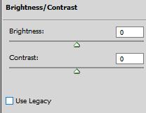 brightness / contrast