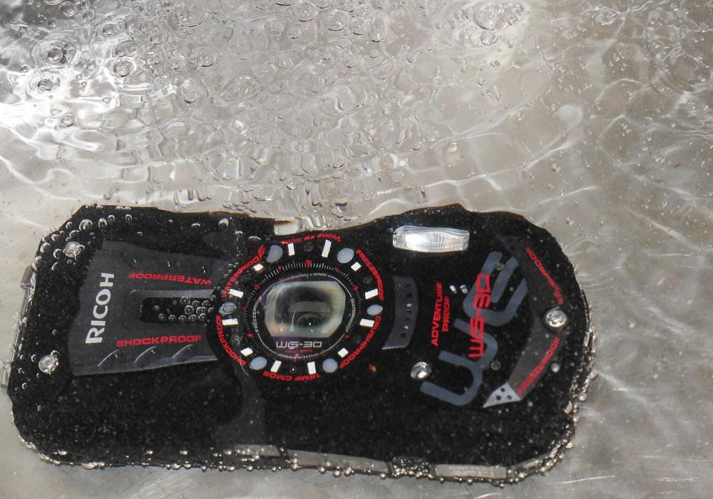 Ricoh Wg 30 Underwater