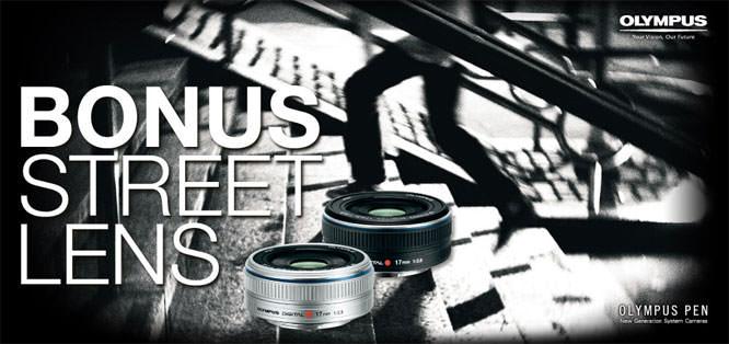 Olympus lens offer