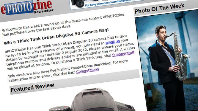 ePHOTOzine's newsletter